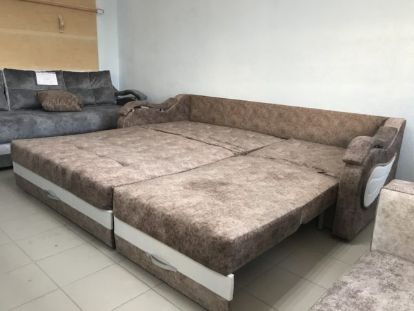 Диван-кровать Лаззат на металлокаркасе