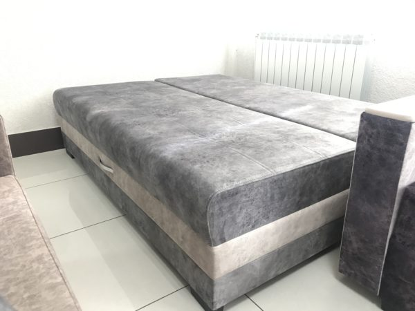 Диван-кровать без подлокотников